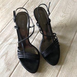 Strappy Bebe Platform Heels